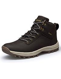 happygo! Hombres Trekking Botas Impermeables Zapatillas de Senderismo Trekking Zapatos de Deporte Sneakers 39-46