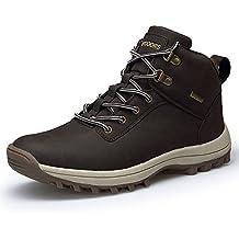 Hombres Trekking Botas Impermeables Zapatillas de Senderismo Trekking Zapatos de Deporte Sneakers 39-