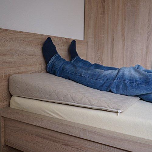 salosan entspannungs und relaxkissen keilkissen f r bett couch liege sofa druckentlastendes. Black Bedroom Furniture Sets. Home Design Ideas