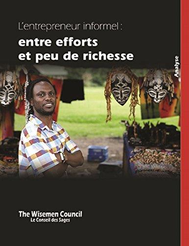 L'entrepreneur informel: entre efforts et peu de richesse par Arnaud Segla
