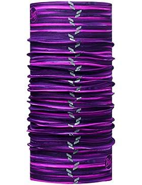 Buff, Sciarpa multifunzione riflettore con elementi riflettenti, taglia unica, Poliestere REFLECTOR, Alyssa, purple...