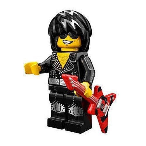 LEGO Minifigur - Serie 12 - Rock Star - 71007 (Minifigur Gitarre Lego)