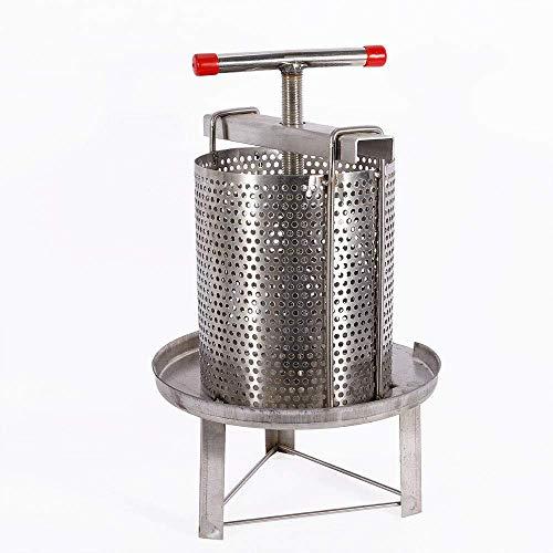 MMUY-1 Honigpresse-Extraktor, manuelle Imkerei-Werkzeug-Druckmaschine, für Wachspresse, Imker, Bauernhof und Haus