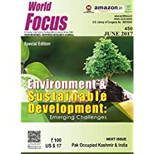 Environment & Sustainable Development: Emerging Challenges