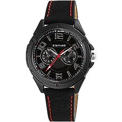 Men's strap waterproof watch/Business casual watches/ sport quartz watch-B