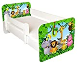 Toddler Bed With Free Mattress …jungle Design