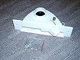 Centrale aspirapolvere tubo per lavello paletta rifiuti in cofano in bianco VacPan mordono paletta con meccanismo di ribaltamento per BVC S-Serie Serie/Compact Serie/Junior adatto