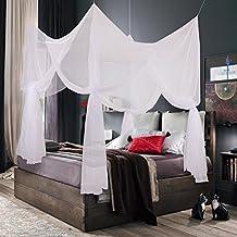 truedays® Cuatro esquina Post cama princesa dosel mosquitera malla de Full, Queen Size