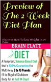 Preview of The 2 Week Diet Plan: Discover How To lose Weight In 14 Days