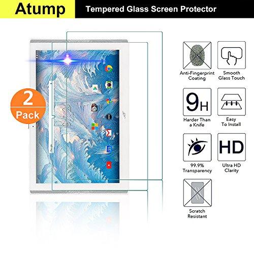[2 Stück] Acer Iconia One 10 B3-A40 Panzerglas Schutzfolie Glas Folie Panzerfolie for Acer Iconia One 10 B3-A40 Displayfolie - 9H Hardness aus gehärtetem Glas - 9H Hardness aus