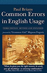 Common Errors in English Usage: Third Edition by Paul Brians (15-Oct-2013) Paperback
