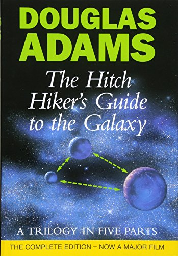 The Hitch Hiker's Guide To The Galaxy: A Trilogy in Five Parts: A Trilogy in Four Parts (Liftarens guide till galaxen)