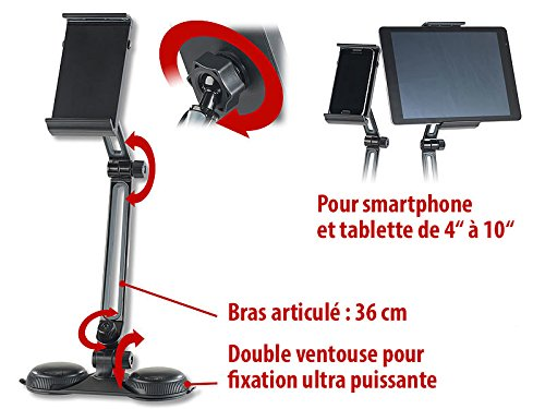 """Support articulé pour smartphone et tablette de 4 à 10"""""""