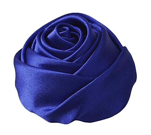 Broche corsage bleu mariée Fleur Barrette Barrette 2pcs