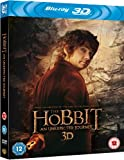 The Hobbit: An Unexpected Journey [Blu-ray 3D + Blu-ray + UV Copy] [2013] [Region Free]
