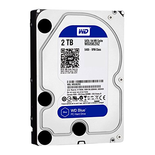 Western Digital WD20EZRZ Internal Hard Drive (8,9 cm (3,5 Zoll), 5400rpm, 64MB, SATA)