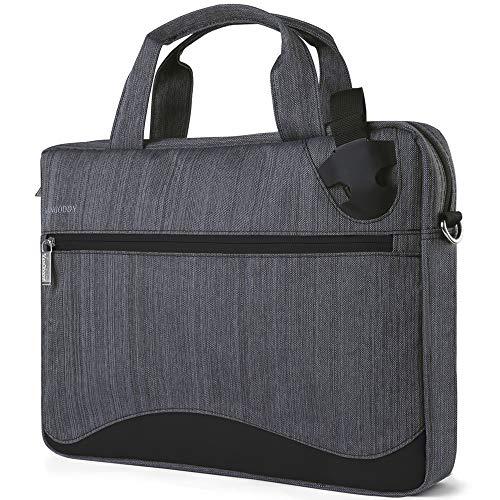 Laptop-Tasche/Umhängetasche für Laptops mit Einer Bildschirmdiagonale von 33,3-17,3 Zoll (33,3-43,9 cm) schwarz schwarz 15.6