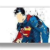 Box Prints Superman Film Film Vintage Retro-Stil Leinwand Wand Kunstdruck Bild groß Klein