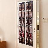 Hängende Aufbewahrung Tasche hinter der Tür Schuh Aufbewahrungstasche Rack, faltbar auf Wand Schuhregal Organizer