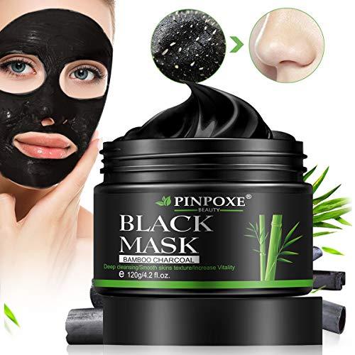 Blackhead Remover Maske, Mitesser Maske, Peel off Maske, Blackhead Maske, Gesichtsmasken, Black Mask, Anti mitesser maske und Porenreinige, Tiefenreinigung Black face mask, 120g