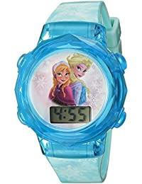 Disney Girl's Quartz Plastic Casual Watch Color:Blue (Model: FNFKD120)