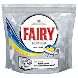 Fairy Platinum All in One Geschirrspüler Tabletten Lemon (20) - Packung mit 2