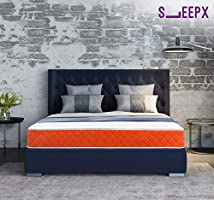 SleepX Dual mattress - Medium Soft and Hard (78*60*5 Inches)