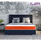 SleepX Dual mattress - Medium Soft and Hard (72*48*6 Inches)