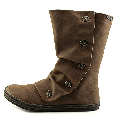 Blowfish Rammish Rund Synthetik Mode Mitte Calf Stiefel Coffee