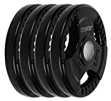 #7: Cockatoo Quad Rubber & Integrated Metal Grip Olympic Weight Plates; Rubber Weight; Rubber Plates; Home Gym