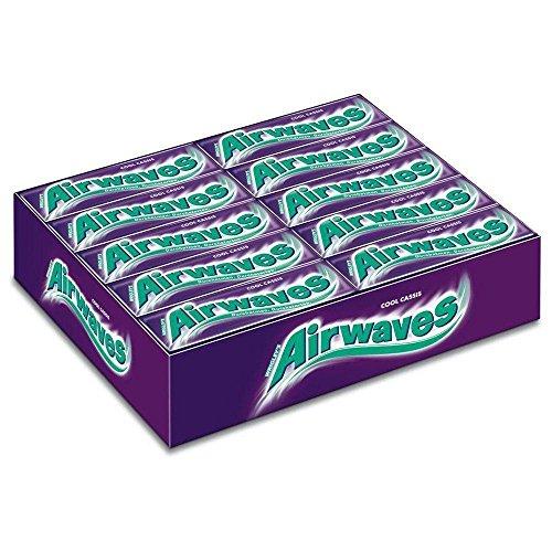 Preisvergleich Produktbild Wrigley Airwaves Cool Cassis,  30er Pack,  (30 x 10 Dragees)
