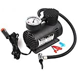 Bluebells India Imported 300Psi 12V Car Electric Air Compressor pump Car/Bike/Football/Volleyball Inflator pump available at Amazon for Rs.675