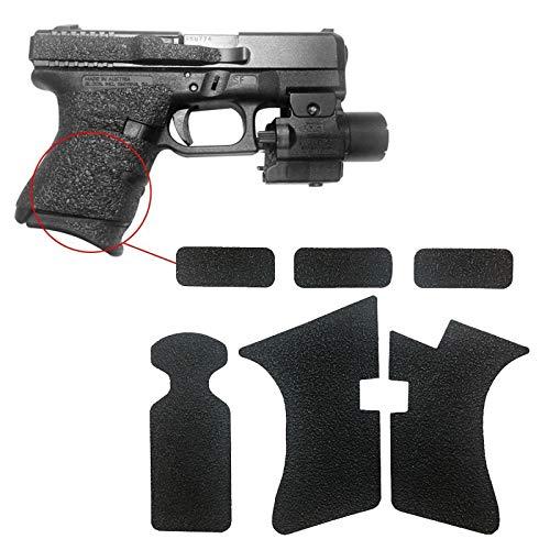 CawBing Anti-Rutsch-Packband mit Gummibeschaffenheit für Glock 17 19 20 21 22 25 26 27 33 43 Pistol Magazine-Zubehör (Glock Magazin 27)