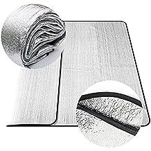 Impermeable (200 * 200 cm, Plata) tiendas de campaña de aluminio plegable doble