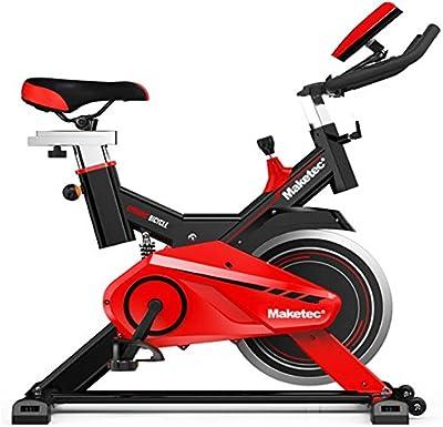 Bicicleta spinning Maketec con volante de inercia de 18 kilos