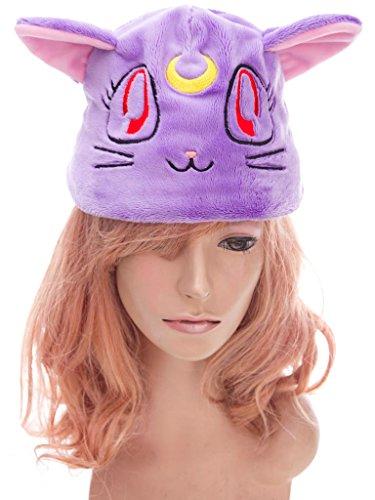 De-Cos Sailor Moon Super S Accessory Black Cat Luna Purple Plushy (Sailor Kostüm Black Moon)