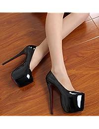 4f4b997697ccfd 18 cm high heels mit feinem leder haben hochhackige schuhe wasserdicht  taiwan - code