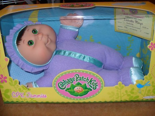 cabbage-patch-kids-cpk-jammies-green-eyes-brown-hair-by-cabbage-patch-kids