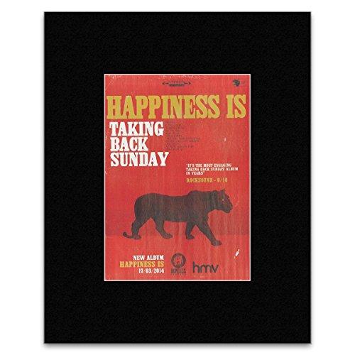 Taking Back Sunday Poster (Kerrang Mini-Poster, Motiv Taking Back Sunday, 28,5 x 21 cm)