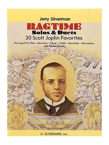Scott Joplin: Ragtime Solos Or Duets. Partitions pour Violon