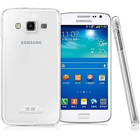 IMAK Marca transparente caja de la PC transparente para Samsung Galaxy A7