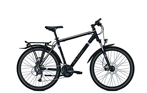 Raleigh Damen Funmax Disc Fahrrad, Black Matt, 45 (Disc-trekkingrad)
