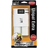 Hähnel UniPal Extra Chargeur Blanc