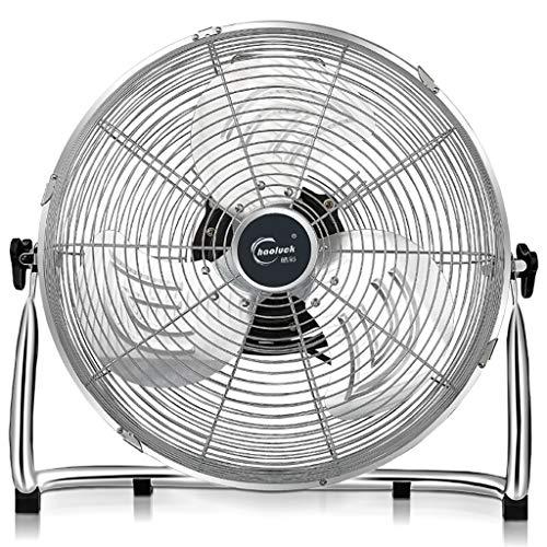 Ventilador De Piso con 3 Velocidades Y Cabezal De Ventilador Ajustable, Ventilador De Piso para Enfriamiento...