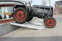 Baumarktplus 1 Stück TrutzHolm® Profi Alu Auffahrrampe ca. 212 cm bis 3.800 kg/Paar Verladerampe Verladerampen Laderampe Laderampen Auto