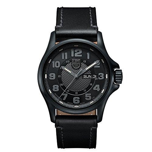 Luminox Herren-Armbanduhr Analog Automatik Leder - XL.1801.BO.NV