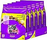 Whiskas Katzen-/Trockenfutter Junior für junge Katzen mit Huhn, 5 Beutel (5 x 800 g)