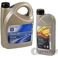 Opel 1x 1 L Liter + 5 DEXOS2 5W30, ACEA A3/B4 C3,