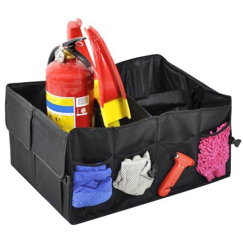 Preisvergleich Produktbild TRIXES Aufbewahrungsbox für das Auto, Kofferraum für Lebensmittel, Werkzeuge, Picknick, Lagerung, Reise