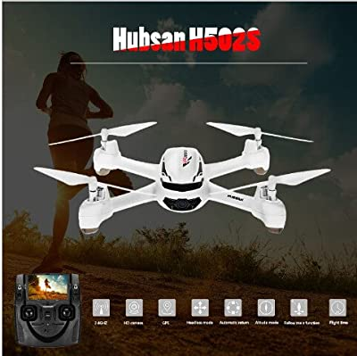 Hubsan H502S X4 DESIRE FPV Quadcopter 5,8GHz GPS 2mp HD camera Headless Mode Altitude Hold Follow Me Automatic Return